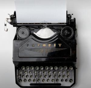 non-English typewriter