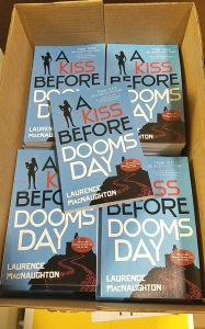 A Kiss Before Doomsday advance reading copies (ARCs)