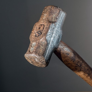 Shockingly, this is a picture of a sledge hammer.
