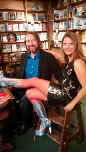 2017 Book Signing at Tattered Cover - with boots