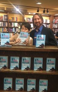 Kristin Nelson and Laurence MacNaughton at Tattered Cover - A Kiss Before Doomsday