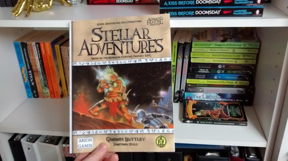 Advanced Fighting Fantasy - Stellar Adventures RPG