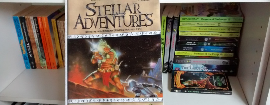 Advanced Fighting Fantasy - Stellar Adventures RPG