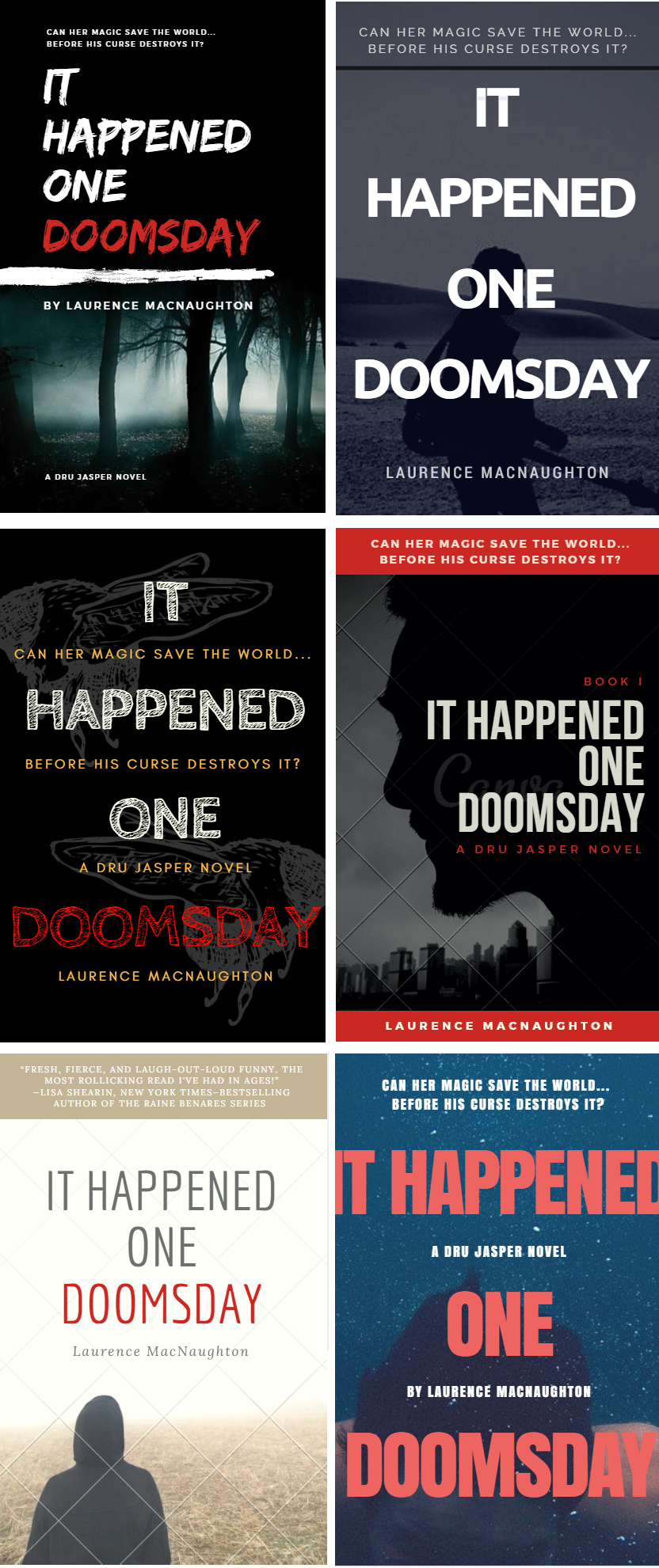 Canva Book Cover Review It Happened One Doomsday