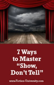 7 Ways to Master Show, Don_t Tell