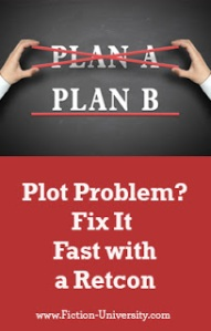 Plot Problem - Fix It Fast with a Retcon