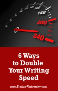how to double your writing speed