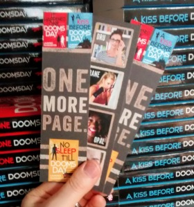 Dru Jasper series urban fantasy bookmarks