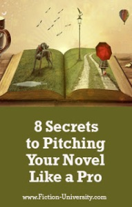 8 Secrets to Pitching Your Novel Like a Pro