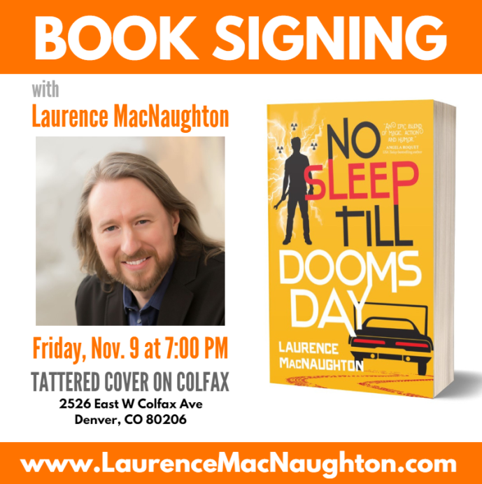 No Sleep Till Doomsday book signing