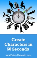 How To Create Characters in 60 Seconds