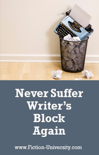 Never Suffer Writer's Block Again