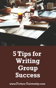 5 Tips for Writing Critique Group Success