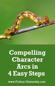 Compelling Character Arcs in 4 Easy Steps